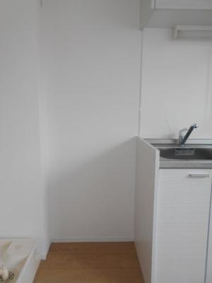 冷蔵庫置場 ※写真は同タイプの別のお部屋です