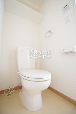 【トイレ】ライジングプレイス八王子みなみ野