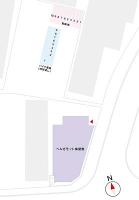 【区画図】ベルガモット梅屋敷