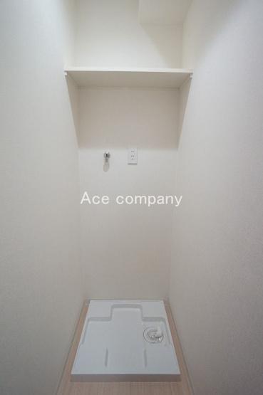 室内洗濯機置き場完備☆洗濯パン新調です☆