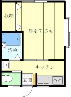 【収納】コーポ・ハイブリッチ