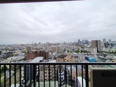 12階からの眺めは綺麗です。