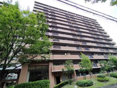 216戸の大規模マンション。事前に雰囲気も知れるのが中古マンションの良さです。