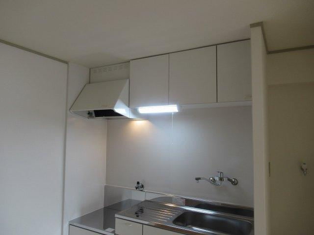 キッチンの棚です