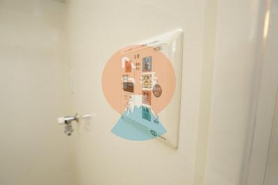 ネット無料。うれしい浴室乾燥機付きで雨の日も洗濯物が干せます。