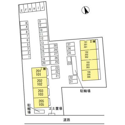 【区画図】D-room パストラーレⅡ