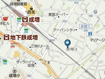 【地図】STAIRISE(ステアライズ)