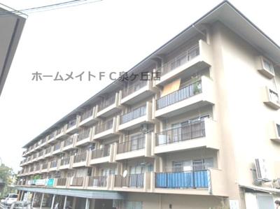 【外観】若松台中央マンション