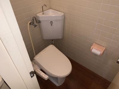 【トイレ】若松台中央マンション