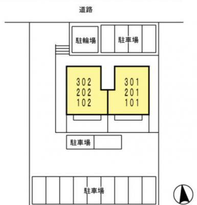 【区画図】ピーノ・パルフェ