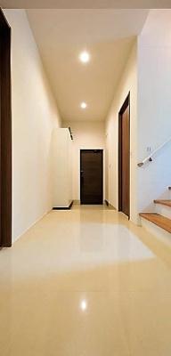 施工主施工例:玄関ホール