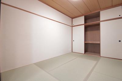 和室があると落ち着いた雰囲気になります