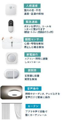 【設備】シニアテックM-等々力ホームズ