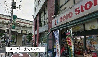 スーパーまで450m