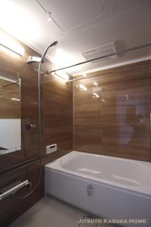 サイズ1418のユニットバス 給湯追焚 浴室乾燥機付き リフォーム当時の写真(2019年3月)撮影