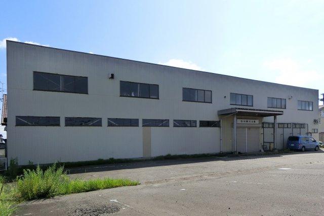 【外観】新発田市住吉町3丁目貸倉庫