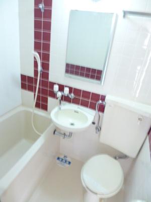 【浴室】スカイコート千歳烏山