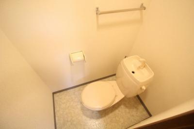【トイレ】城内フラット