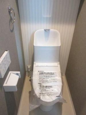 温水洗浄便座。