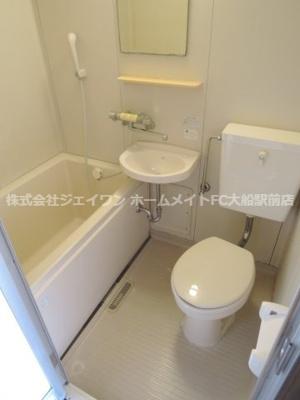 【浴室】ジュネス鎌倉