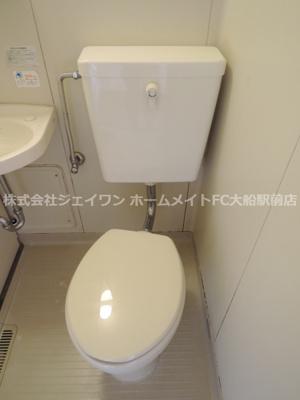 【トイレ】ジュネス鎌倉
