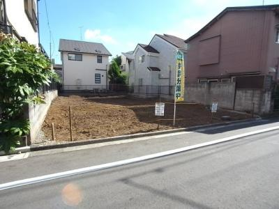 【外観】新宿区中落合4丁目 建築条件なし売地 11,000万円