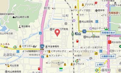 【地図】フェリエⅣ