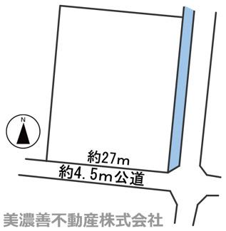 【区画図】57119 各務原市那加桐野町土地