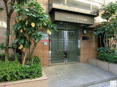 【エントランス】スカイコートヌーベル神田
