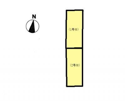 【区画図】クレイドルガーデン防府市今市町第1(2号棟)
