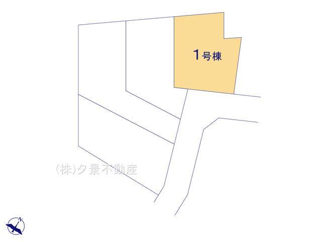 【区画図】西区大字水判土231-5(1号棟)新築一戸建てファーストタウン