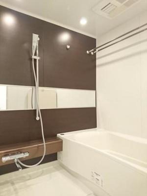 【浴室】アパートメンツタワー麻布十番