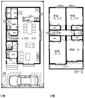 【間取り】尼崎市武庫之荘 新築戸建