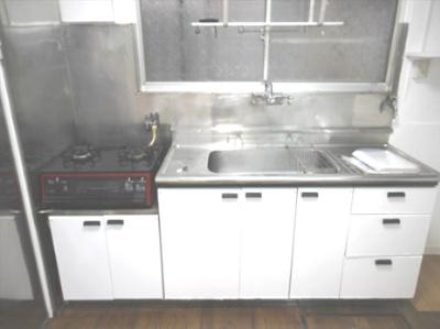 【キッチン】町屋Ⅱ貸家