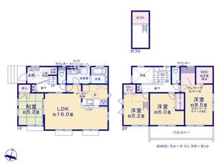 全室南向きの4LDK、主寝室にはテレワークスペースとWIC付