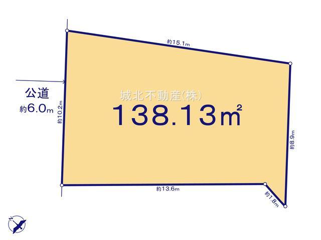 【区画図】杉並区和泉2丁目 限定1区画