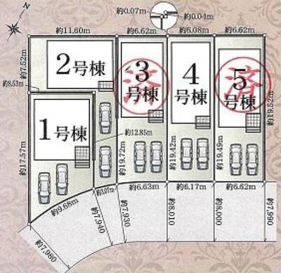 【区画図】東区子安町 第4 AR