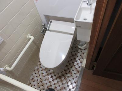 【トイレ】城南町3-12-9貸家