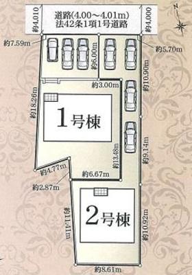 【区画図】西区雄踏町宇布見 7期  AR