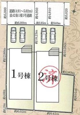 【区画図】南区芳川町 第1 AR