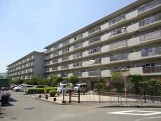 【外観】日商岩井多田マンション北棟 4階