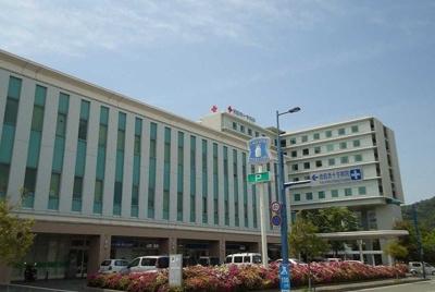 徳島赤十字病院さんまで1500m