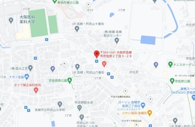 【地図】アニマン高槻阿武山