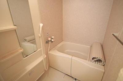 お風呂もゆったりしてます