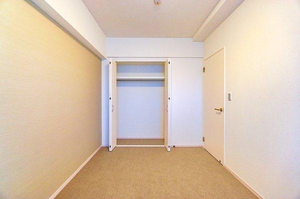 豊富な収納スペース。 収納が多いと、お部屋が広く使えます!