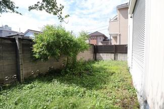 千葉市中央区長洲 中古一戸建て 本千葉駅 プライベートなお庭がございます!