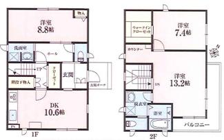 千葉市中央区長洲 中古一戸建て 本千葉駅 3LDK+WICです!