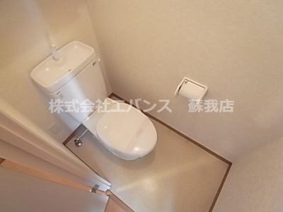【トイレ】ハイトピア千葉