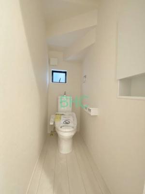 【トイレ】雄琴5丁目 分譲12区画 4号棟