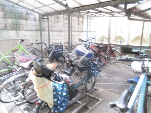 【駐輪場】三軒茶屋スカイハイツ